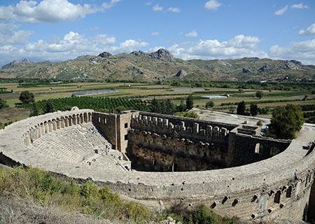 Tour di Perge e Aspendos
