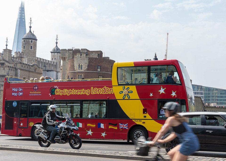 Tour Hop-on Hop-off di Londra