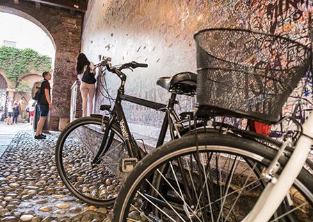 Verona in bici