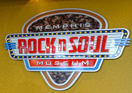 Memphis Rock n Soul Museum, Music Hall of Fame