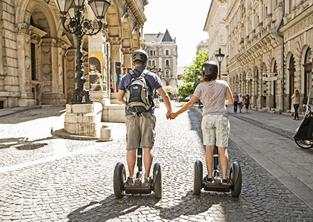 Budapest by Segway