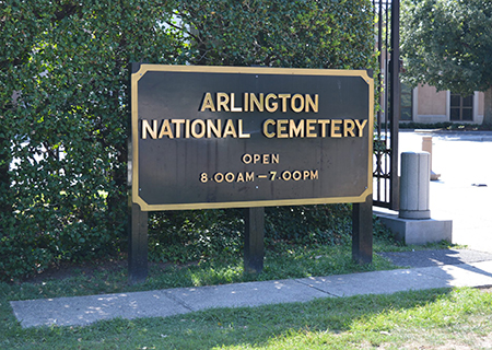 Arlington National Cemetery and Washington