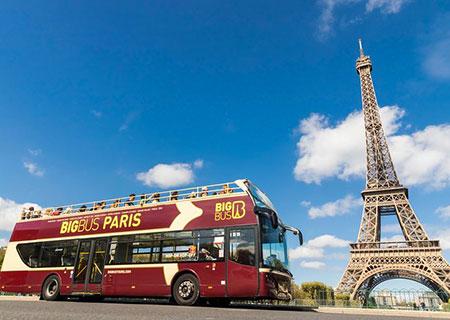 Tour Hop-on Hop-off Parigi