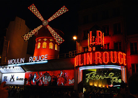 Spettacolo Moulin Rouge