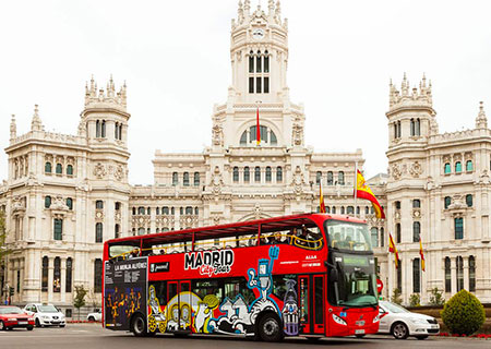 Tour di Madrid in autobus
